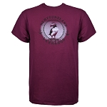 Unisex T-Shirt - Puffin/Rope/Anchor - Maroon