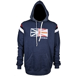 Hoodie with Quilted Newfoundland Flag
