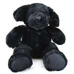 Plush - Sitting Black Lab