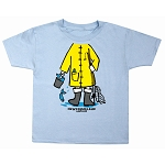 Kids T-Shirt - Fisherman Body Suit - Light Blue