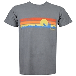 Retro Stripe Moose T-Shirt