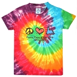 Youth - Peace, Love & the Rock T-Shirt