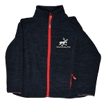 Kids Micro Polar Fleece with Moose