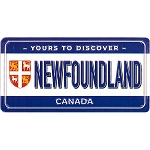 Magnet - Newfoundland License Plate: Yours to Discover