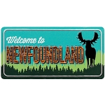 Magnet - Newfoundland License Plate: Welcome to Newfoundland