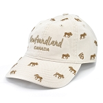 Newfoundland Moose All Over Patterned Cap