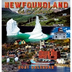 2021 Wall Calendar - Brian Bursey Photographs of Newfoundland and Labrador