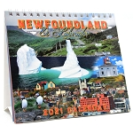 2021 Desktop Calendar - Brian Bursey Photographs of Newfoundland and Labrador