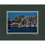 Matted 8 x 10 Photo - St. John's, The Battery
