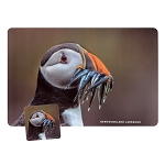 Puffin NL Placemat and Coaster 8 PC Set