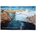 Cloth Placemat - Harbour Iceberg Design