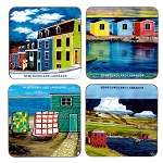 Coasters - Assorted Images - 4 Pack