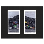 Bobbi Pike - Rocky Aisle to Town - 11 x 14 - Matted Print