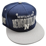 Newfoundland Cap  - Navy and Grey