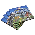 Coasters - Scenic Newfoundland  and Labrador  - Set of 4 - 4 x 4
