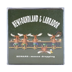 Moose Dropping Set of 4 Coasters