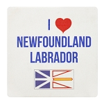 I Love Newfoundland and Labrador Coaster