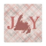 Joy Christmas Coaster - Ceramic with Corkback