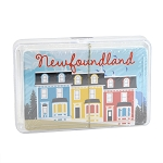 Colourful Rowhouses Playing Cards