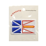 Embroidered Patch - Newfoundland Flag - 1.5