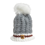 Toque - Cable Knit with Pompom