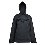 Landway - Unisex Hoodie - Newfoundland - with Map -  Poly- Knit Trainer - Charcoal