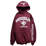 Youth - Hoodie - Newfoundland Labrador Est 1497 - 4 - Icons - Burgundy