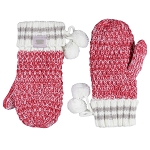 Coffee Shoppe - Mittens - Deep Red
