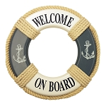 Welcome On Board - Life Ring - 9.5