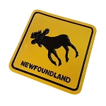 Magnet - Newfoundland Moose Crossing - 2