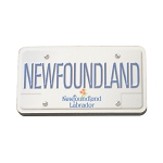 Magnet - Newfoundland License Plate - 3