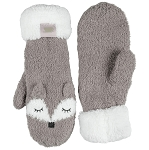 Coffee Shoppe - Mittens - Fox