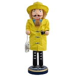 Nutcracker - Yellow Slicker Fisherman