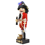 Nutcracker - Pirate with Treasure Chest
