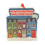 Ornament - 3D - Newfoundland and Labrador Row Houses - 3