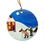 Bobbi Pike - Ornament - Mummers Approach