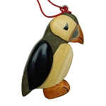 Wooden Puffin - Ornament - 3