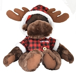 Plush - Moose with Plaid Jacket - 11