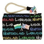 Wristlet - Newfoundland  * Labrador - With Flag Zipper Tag