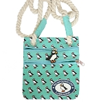 Cross Over Purse - Puffin - Newfoundland * Labrador - With Puffin Zipper Tag