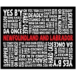 Sherpa Blanket  -  Newfoundland Sayings - 50