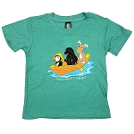 T Shirt - Animals in Dory - Newfoundland and Labrador - Green