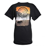 Unisex T-Shirt - Newfoundland and Labrador - Moose  Sunset - Black