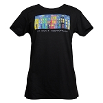 T Shirt - Ladies - Jelly Bean Row  - St John's Newfoundland - Black