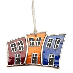 Stained Glass Rowhouses - 2