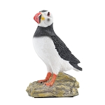 Puffin on Rock Figurine
