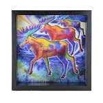 Moose Window Box - Black Frame