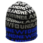 Toque - Newfoundland - White/ Grey/ Blue