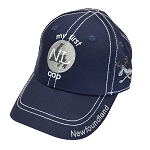 Kids - My First Newfoundland Cap - Navy - Elastic at Back