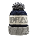 Toque - Adult - Newfoundland - Grey/ Navy/ White